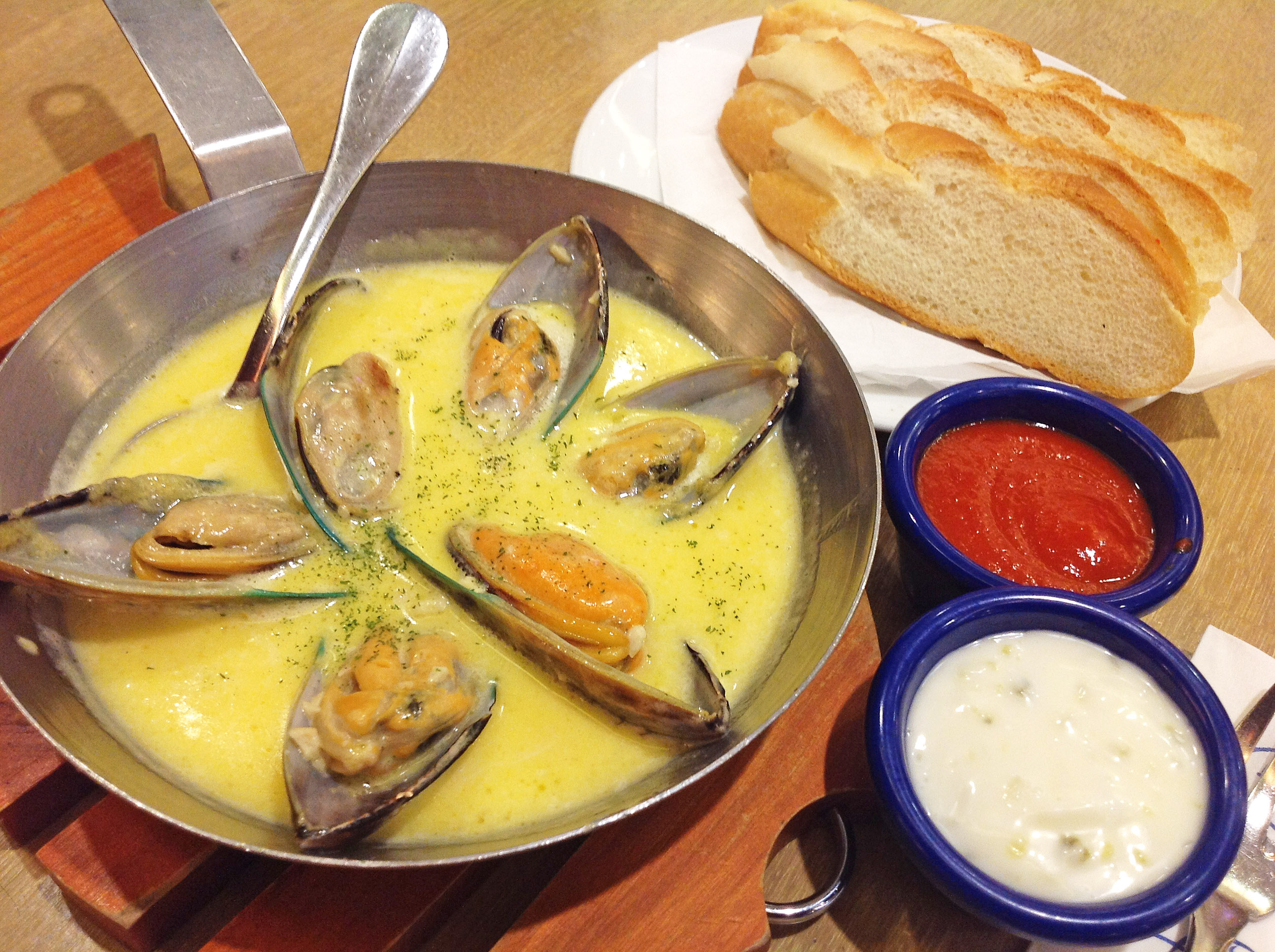 Recommended Restaurant: Seafood in a pan